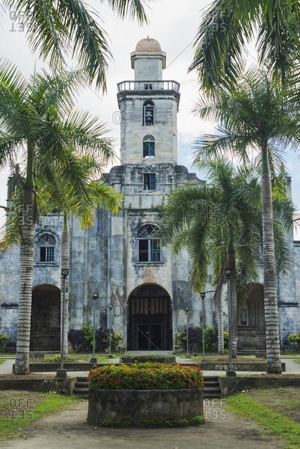 Albuquerque church in Tagbilaran, Bohol Island, Philippines