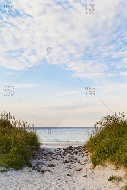 Sty Wick Beach in Orkney, Scotland