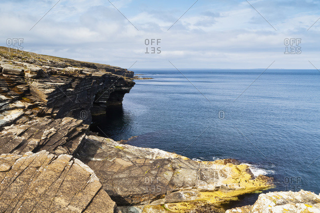 Mull Head, Nature Reserve in Orkney, Scotland