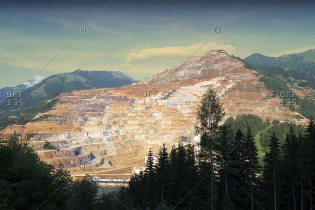 View to Erzberg mine, Styria