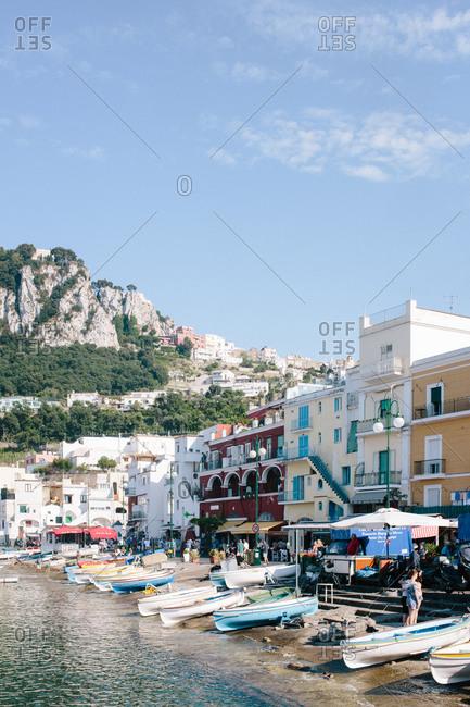 Marina Grande on the Island of Capri