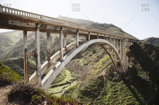 Rocky Creek Bridge in California