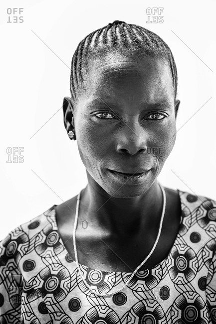 Paicho, Uganda - March 5, 2015: Portrait of a Ugandan woman