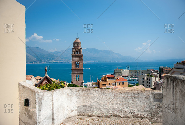 The town of Gaeta, Italy