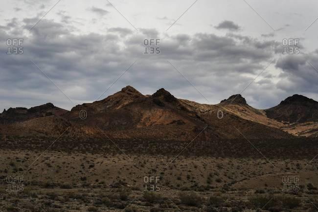 Mountainous landscape in Nevada