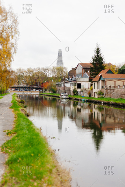 Canal in Amiens