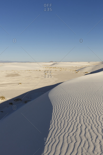 Dunes of White Sands, New Mexico