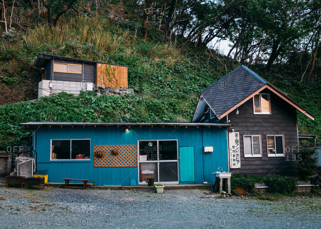 Rural business on the Izu peninsula in Japan