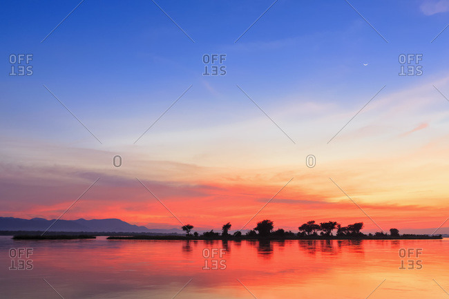 Sunset at Zambezi