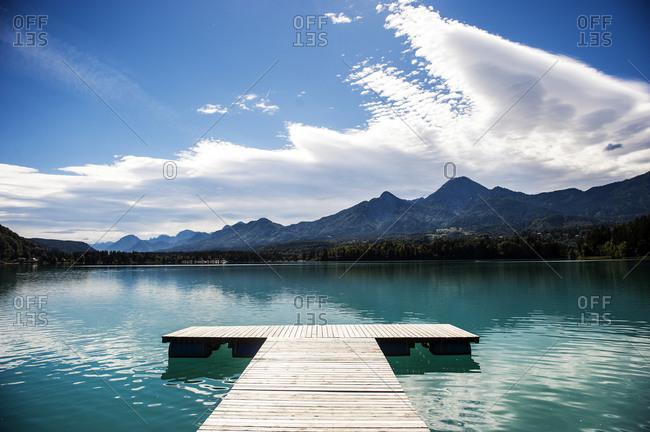 Jetty at Lake Faak