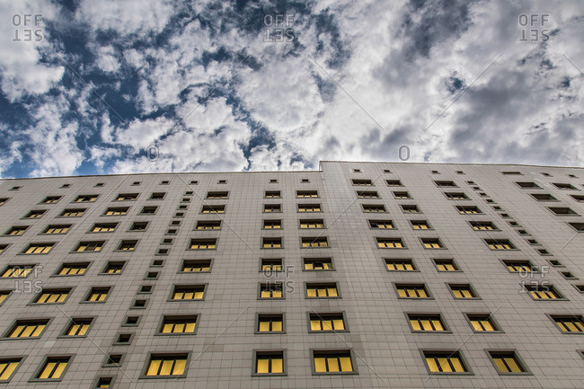 Astana, Kazakhstan - July 18, 2015: The House of Ministries in Astana, Kazakhstan