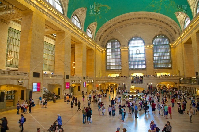 New York, NY, USA - May 24, 2015: Grand Central Terminal, New York