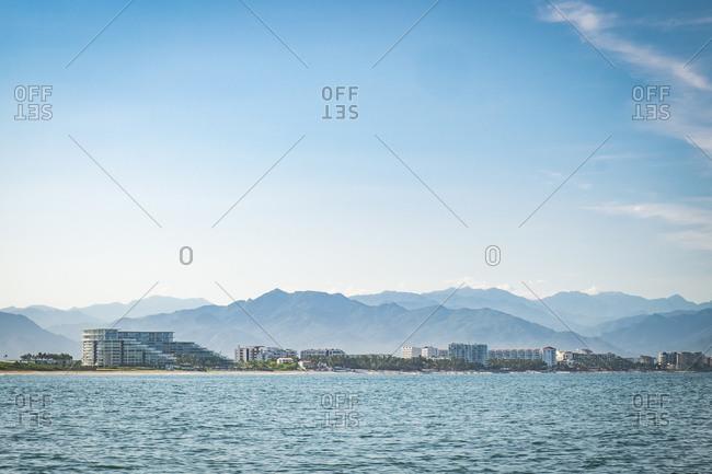 Coast Line of Banderas Bay