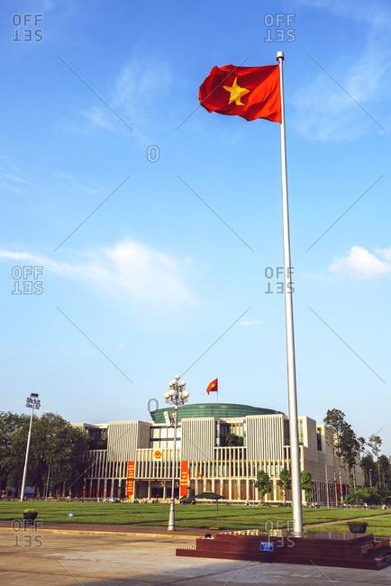 Ho Chi Minh Mausoleum Square in Hanoi
