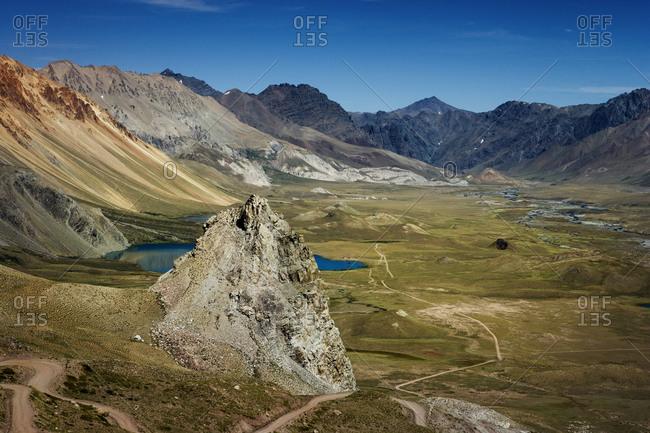 Dramatic landscape in Argentina