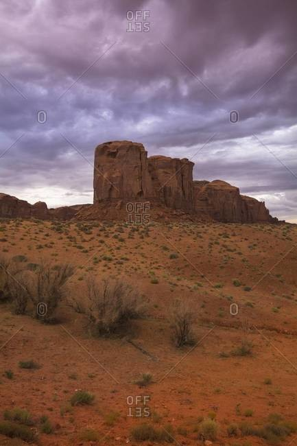 Sandstone Rock Formations, Monument Valley, Monument Valley Navajo Tribal Park, Arizona, USA