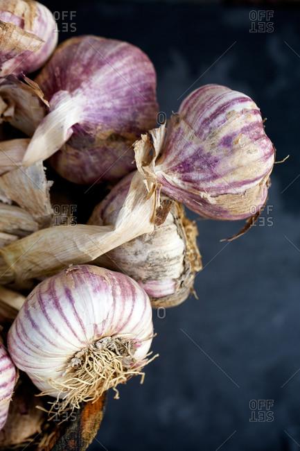 A bunch of garlic