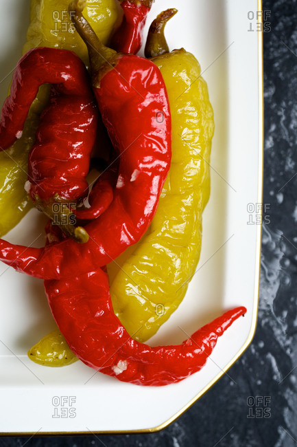 Sun-dried chili peppers