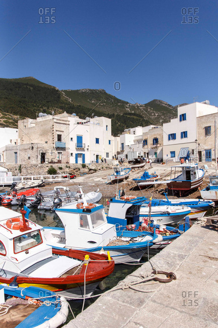 Fishing village in the Mediterranean