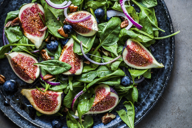 Fig Salad from above