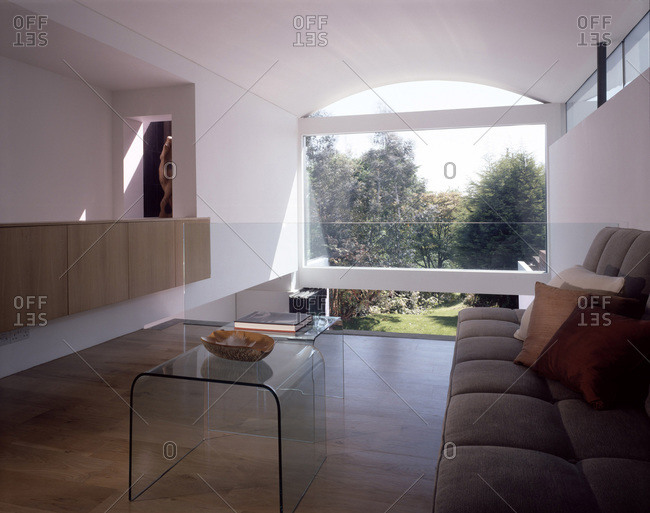 Lounge of a modern house in Wimbledon, London