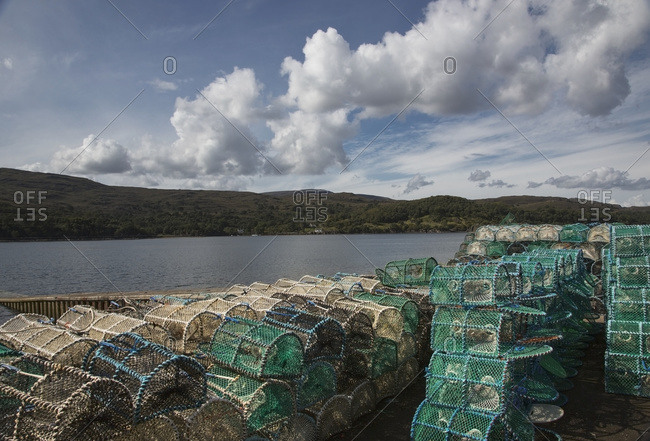 Fishing traps along the coast, Applecross Peninsula, Scotland