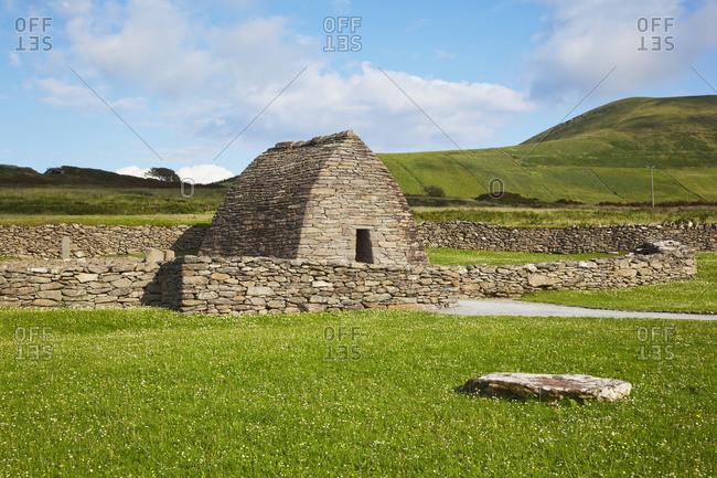 The Gallarus Oratory on the Dingle Peninsula, County Kerry, Ireland