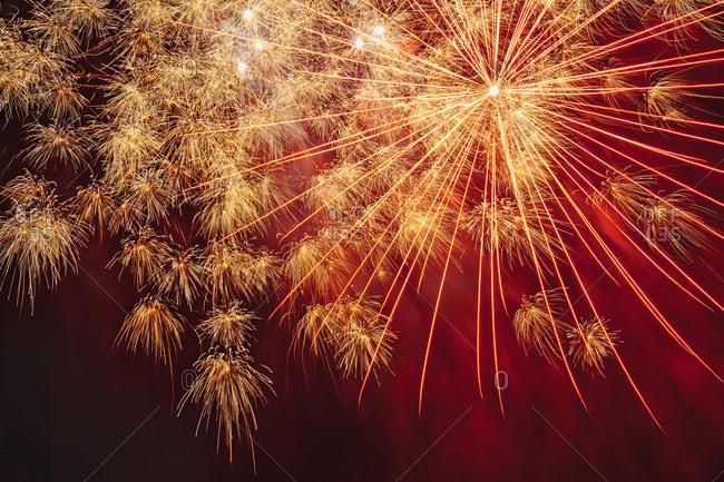 Fireworks Display, London, England