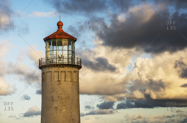 North Head Lighthouse, Cape Disappointment State Park, IL Waco, Washington, United States of America