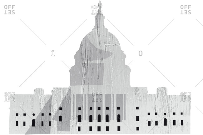 An illustration of the capitol building