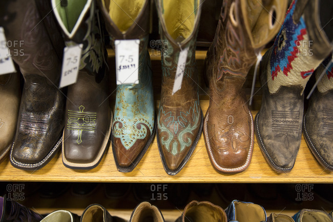 Cowboy boots for sale in Shelby, Montana