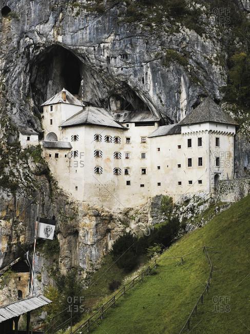 Predjama Castle in Inner Carniola, Slovenia