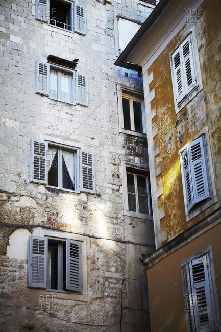 Buildings in Split, Croatia