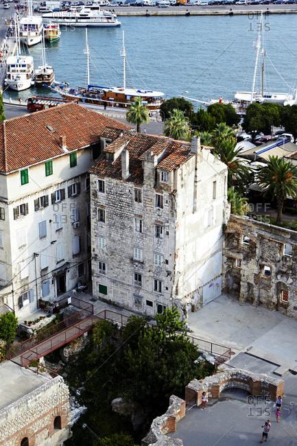 An old building in Split, Croatia