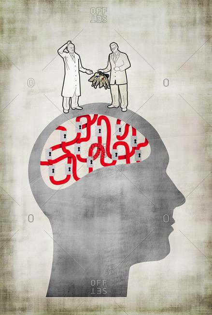 Psychiatrist and psychologist discuss case