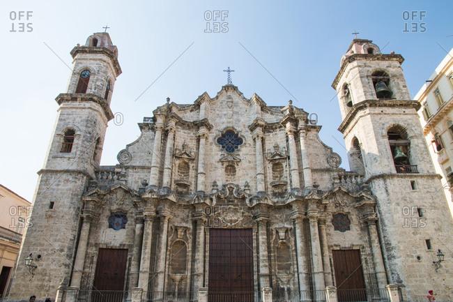 Plaza de la Catedral, Cathedral San Cristobal, Cuba