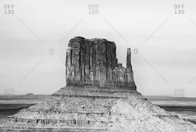 Formation in Monument Valley Navajo Tribal Park