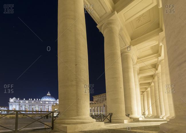 St Peter's Square, Rome, Lazio, Italy
