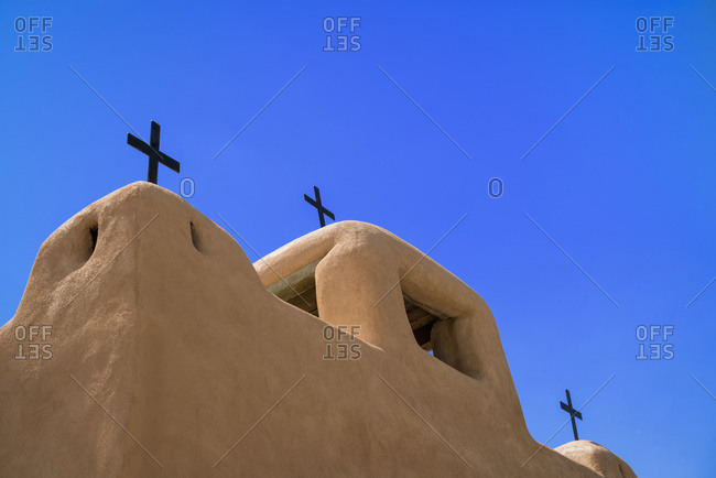 Our Lady of Saint John of the Lakes Catholic Church, Talpa, New Mexico, United States of America