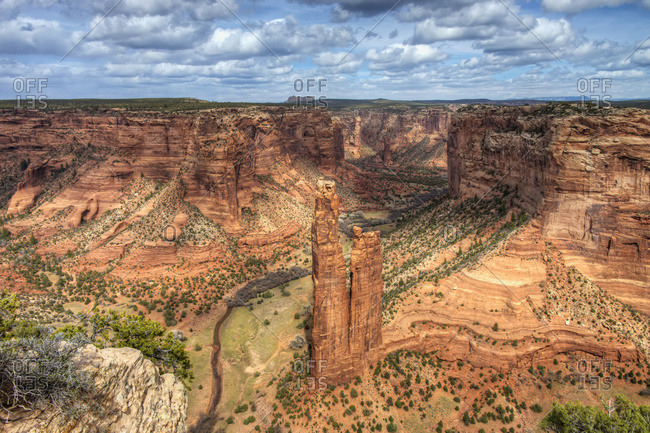 Spider Rock, Canyon de Chelly National Monument, Arizona, United States of America