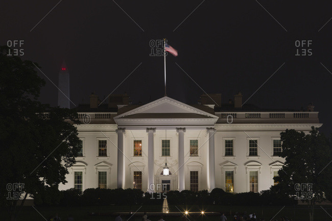 Washington, District of Columbia, United States of America - May 14, 2014: The White House, Washington, District of Columbia, United States of America