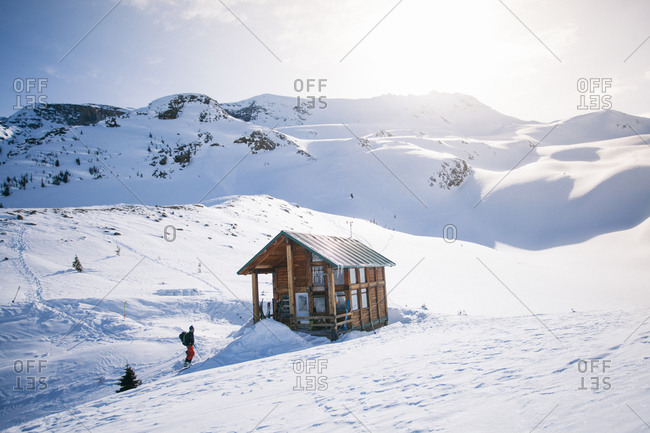 A small lodge in Rogers Pass, Canada
