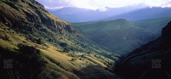 Valley, Drakensberg, Kwazulu Natal, South Africa