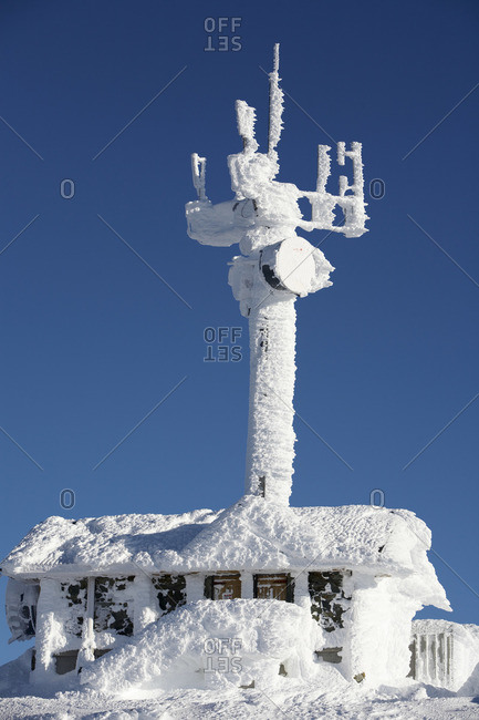 Communication Tower, Whistler, British Columbia, Canada