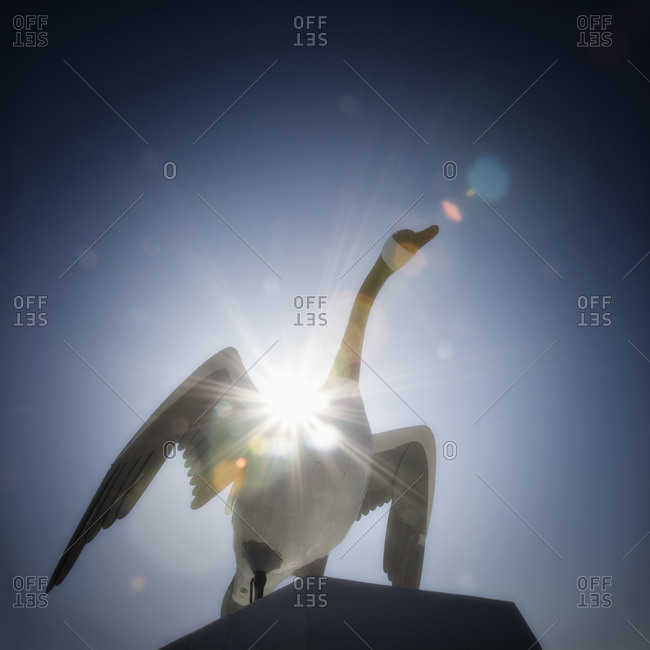 Giant Canada Goose Statue, Wawa, Ontario, Canada