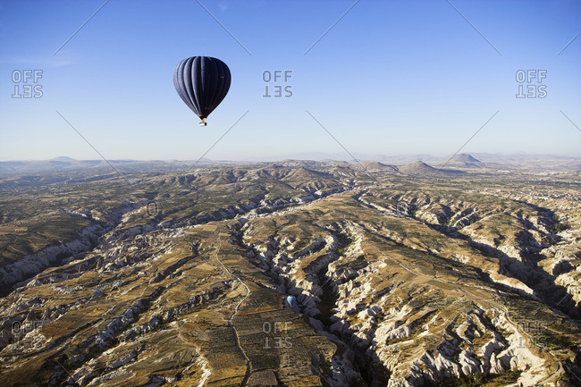 Hot Air Balloon, Goreme Valley, Cappadocia, Turkey