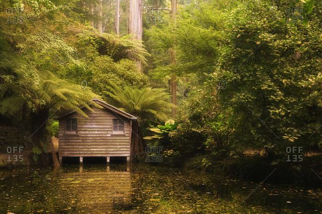 Boat House, Dandenong Ranges National Park, Victoria, Australia
