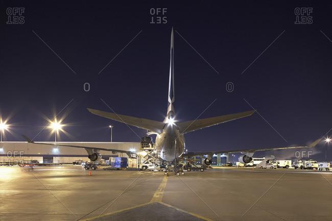 Cargo Plane, Pearson International Airport, Toronto, Ontario, Canada