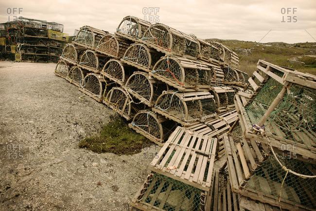 Lobster Traps, Peggy's Cove, Nova Scotia, Canada