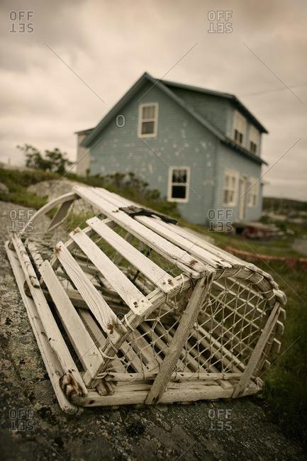 Lobster Trap, Peggy's Cove, Nova Scotia, Canada